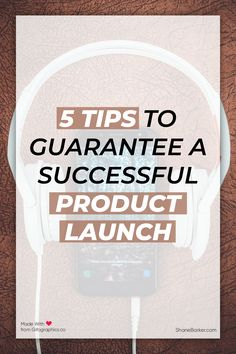 Want to do the perfect product launch? Here are 5 tips that will help your product launch be successful. I also include some common mistakes to avoid.  #productlaunch #newproduct #business #startups #entrepreneur
