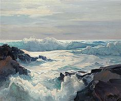 F.J. Waugh - Curling waves