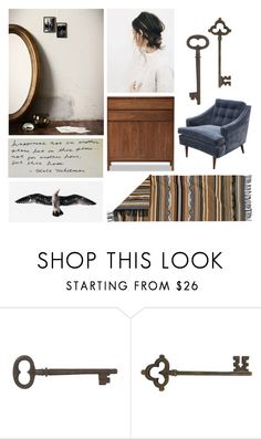 """""""for this hour"""" by jenniferkoper ❤ liked on Polyvore featuring interior, interiors, interior design, home, home decor, interior decorating, Hedge House, Jayson Home, Dot & Bo and modern"""