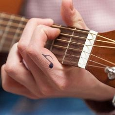 Buy directly from the world's most awesome indie brands. Or open a free online store. - Small music tattoo – musical note temporary tattoo on hand - Small Music Tattoos, Music Tattoo Designs, Cute Small Tattoos, Trendy Tattoos, Black Tattoos, Tattoo Music, Tattoo Small, Violin Tattoo, Hand Tattoos