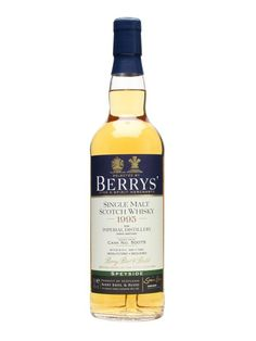 Imperial 1995 / 17 Year Old / Cask #50075 / Berry Bros : Buy Online - The Whisky Exchange - A 1995 vintage single cask whisky from Imperial, closed and being demolished at the time of this bottle's release, ready for a new distillery to be built in its place. This was aged for 17 years be...