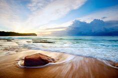 The Beautiful Balangan Beach