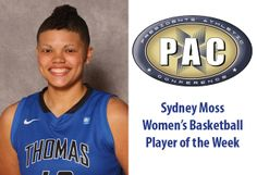 Sydney Moss Named PAC Women's Basketball Player of the Week