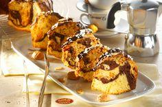 Amaretto-Marmor-Kuchen - viele gute Zutaten für einen besonderen Geschmack: http://www.ichliebebacken.de/rezeptebox/kuchen/amaretto-marmor-kuchen