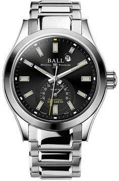 Ball Watch Company Engineer III Endurance 1917 TMT Limited Edition Watch available to buy online from with free UK delivery. Watch Companies, Mechanical Watch, Omega Watch, Rolex Watches, Baselworld 2017, Engineering, Colour Black, Mechanical Engineering, Technology