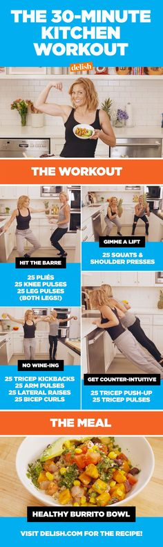 Here's How Candace Cameron Bure Makes Dinner And Works Out In 30 Minutes Flat
