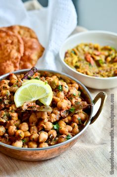 Channa Masala | authentic Indian food