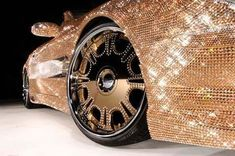 Custom Mercedes-Benz SL600 Covered With Swarovski Crystals (shared via SlingPic)