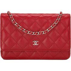 ad6180b2ec2020 Chanel WOC Red Caviar SHW $2100 Chanel Wallet, Chanel Purse, Chanel Woc,  Chanel