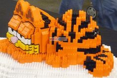 Lego Garfield, from the Lego Fan Event 2012 in Lisbon