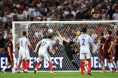 Inglaterra vs Rusia: GOL DE DIER