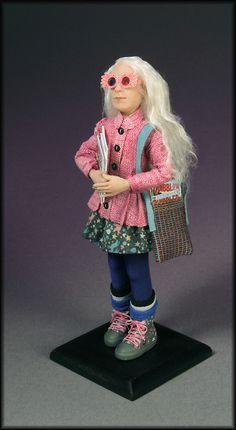 Luna Lovegood from Hogwarts..wearing her Spectrespecs