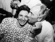 President of Israel Shimon Peres and his wife of 66 years Sonia