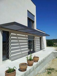 Avenir Concept Entwurf Photos Brise soleil in 2020 Porch Gazebo, Patio Canopy, Canopy Outdoor, Patio Roof, Awning Roof, Pergola With Roof, Pergola Shade, Pergola Kits, Gazebo Ideas