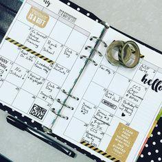 Loving my new #SimpleStories #CarpeDiem #planner !  #plannergirl #plannerlove #planneraddict #filofax #kikkik #plannercommunity #washi #washitape #stickers #scrapbook #paperaddict #prettypaper by queenbeedonna1
