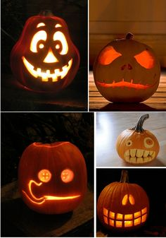1000 Ideas About Jack O Lantern Faces On Pinterest