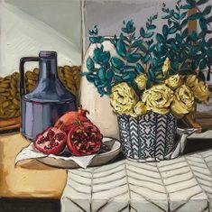 Sam Michelle is an artist represented by Gallerysmith, a contemporary art gallery in Melbourne Pattern Art, Art Patterns, Oil Painters, Australian Art, Art Festival, Flower Art, Still Life, Framed Art, Contemporary Art