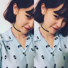 Consulta esta foto de Instagram de @okss2121 • 2,018 Me gusta Emma Style, Pretty And Cute, Short Hair Styles, Instagram Posts, Japan, Memes, Girls, Summer, Fashion