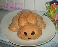 Honey Bunny Bread is easy to make with the help of a bread machine.  Here's the recipe and step by step instructions. http://blog.aboutone.com/2012/04/06/bunny-bread-made-easy/