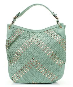 Claudia Hobo in Soft Mint