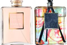 I have tons of perfumes and I never know what to do with the bottles after they are done. So this is a great idea...