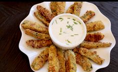 BEST Zucchini Sticks   Real Healthy Recipes