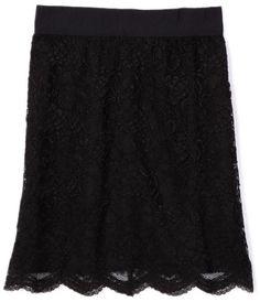 AK Anne Klein Women's Petite Lace Slim Skirt « Clothing Impulse