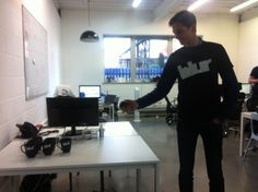 Jan has invented the game of blur pong for Friday afternoon fun. #happyfriday  www.blurgroup.com