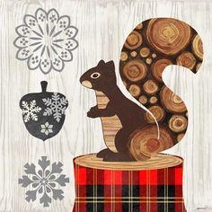Norwegian Wood-Squirrel by Jennifer Brinley | Ruth Levison Design