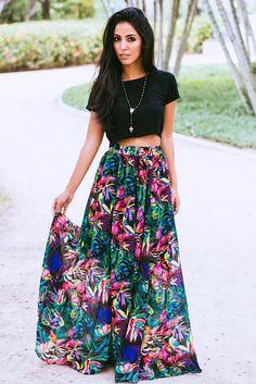 Brighten Up Your Closet This Winter With Florals. - LookVine