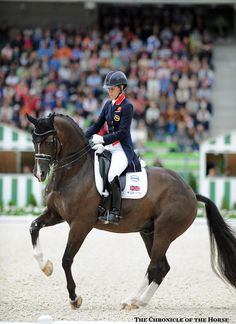 2014 Alltech FEI World Equestrian Games Grand Prix Special Charlotte Dujardin and Valegro are on a winning streak again, taking gold for Great Britain in the Grand Prix Special.
