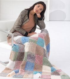 How to Crochet A Patchwork Afghannull