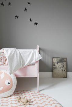 Speelmat HEARTS pinkgrey - Mini