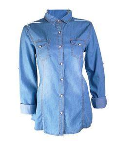 Camisa mezclilla deslavada – espora