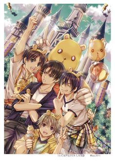 Attack on Titan x Noragami Crossover | Eren, Levi, Yukine and Yato
