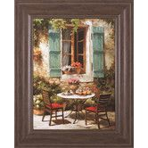 Found it at Wayfair - Outdoor Café by Steven Harvey Framed Painting Print
