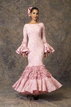 Traje de flamenca de Aires de Feria 2019. Modelo Iusiones.