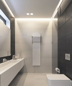 Stoyanka house - Интерьер - Projects - archiplastica #interior #archiplastica #bathroom #white