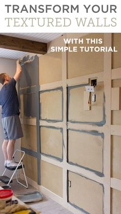 17 Alluring Accent Wall Ideas for Any Room in Your House Master Makeover: DIY Paneled Wall