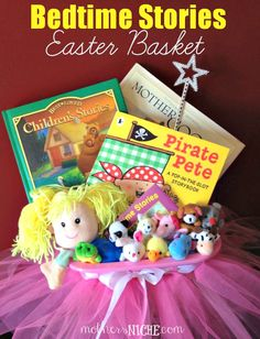 Best easter basket ideas without candy crafts a month and beans easter basket negle Images