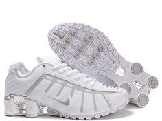 NIKE SHOX O LEVEN MEN S RUNNING SHOE WHITE SILVER SALE  80.64 Mens Nike Shox 8a4db73f0