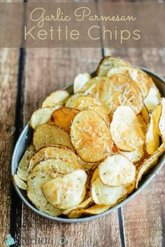Garlic Parmesan Kettle Chips