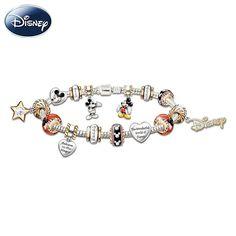 Bradford Exchange 110th anniversary Disney Charm bracelet- want!!