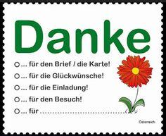 """AFNB - Boletim Virtual: Setembro 2016 - O selo que diz """"Obrigado"""" - Áustria O selo traz a mensagem de """"obrigado"""" e existem cinco opções para escolha da motivação da saudação basta assinalar com o """"x"""" na situação que se enquadra o cumprimento: (convite, cartão, visita, felicitações ..) ou  assinalar o campo a ser preenchido com a inclusão de uma nova."""