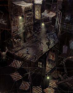 Alice: Madness Returns: Dollhouse Underground by LuisMelon / DeviantArt