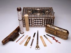 Calligrapher's Tools and Materials