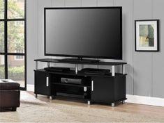 TV Stands For Flat Screens 46 Console Wood Table Modern Entertainment Center #TVStandsForFlatScreens46 #Modern