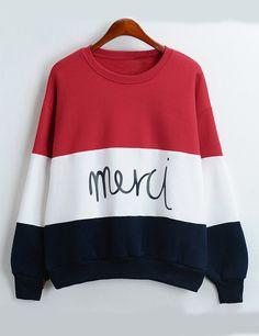 Sudadera+cuello+redondo+letras+-color+combinado+15.66