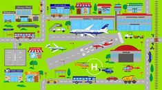 Around the Town - Airport