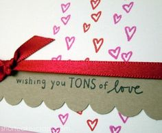 wishing you tons of love greeting card ::  http://shortcakescraps.storenvy.com/products/255949-wishing-you-tons-of-love
